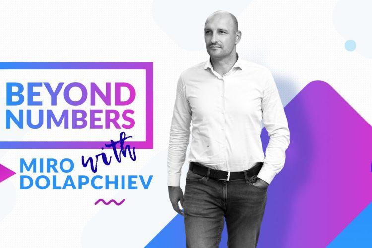 Beyond Numbers Show - Miroslav Dolapchiev - logo